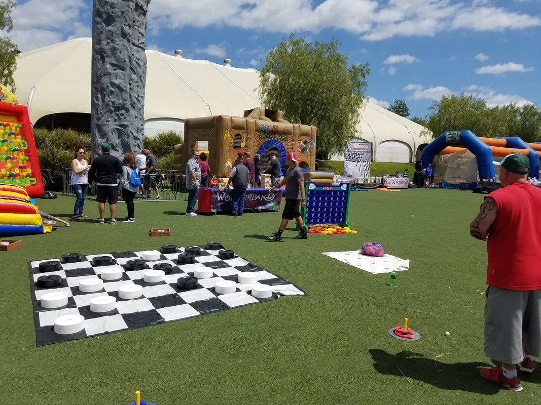 Chess for company parties, picnics, field games, team building